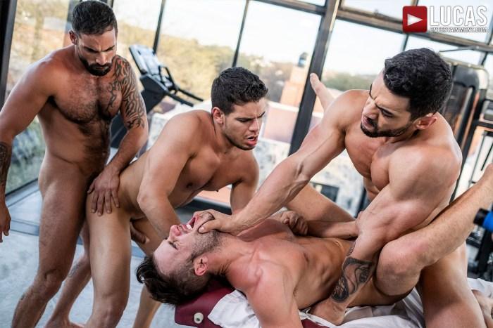 Gay Porn Orgy Allen King Arad Winwin Edji Da Silva Rico Marlon