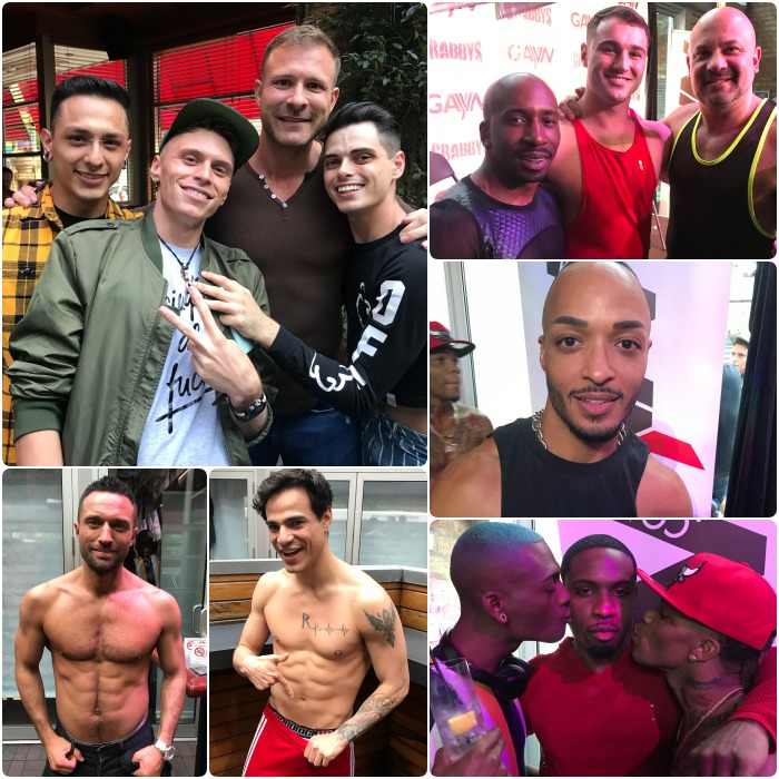 Gay Porn Stars GayVN Party Sidetrack 2019