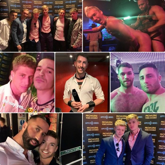 Gay Porn Stars Prowler European Porn Awards 2019
