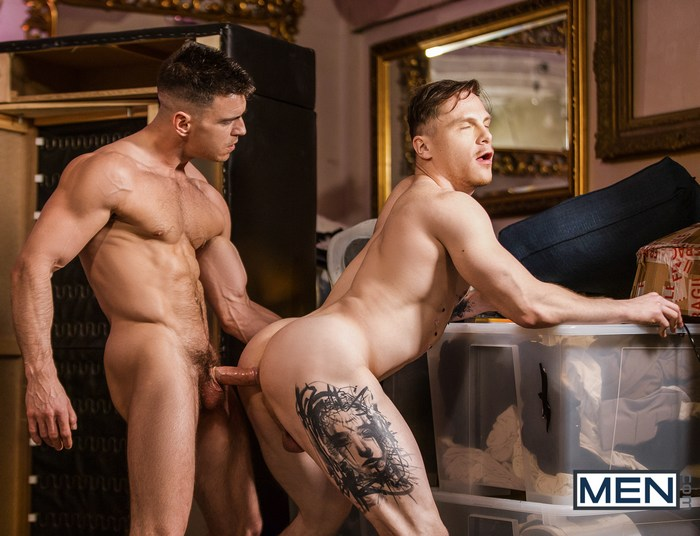 Paddy OBrian Gay Porn Chris Loan Muscle Hunk