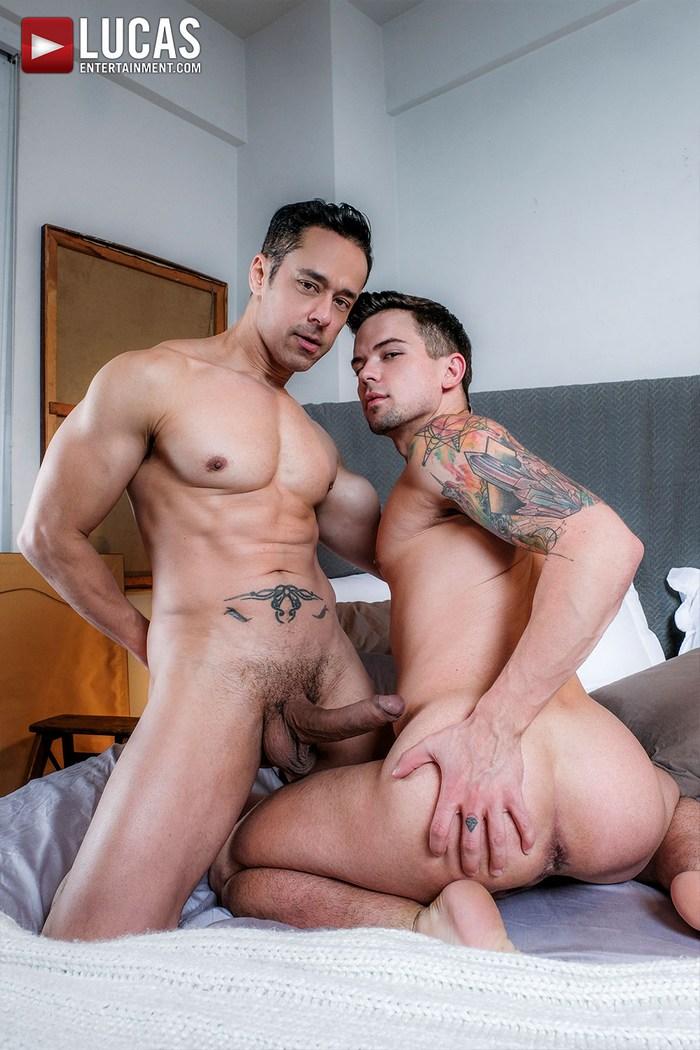 Big gay bareback
