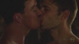 Cade Maddox Dalton Briggs Gay Kiss