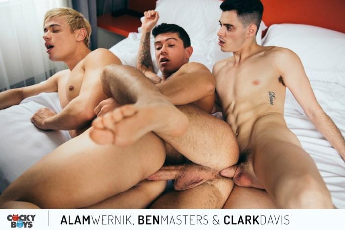 Gay Porn Alam Wernik Ben Masters Clark Davis