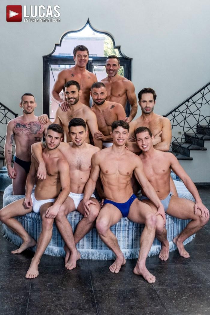 Gay Porn All-Star Orgy