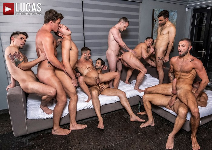 Gay Porn Bareback Orgy Muscle Hunk Group Fuck Allen King Colton Grey Dakota Payne Hunter Smith Jeffrey Lloyd JJ Knight Manuel Skye Max Arion Michael Lucas Ruslan Angelo