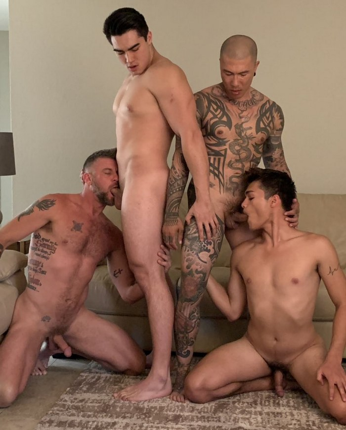 Gay Porn Behind The Scenes Axel Kane Damian Dragon Chris Matthews Jason Wolf PeterFever
