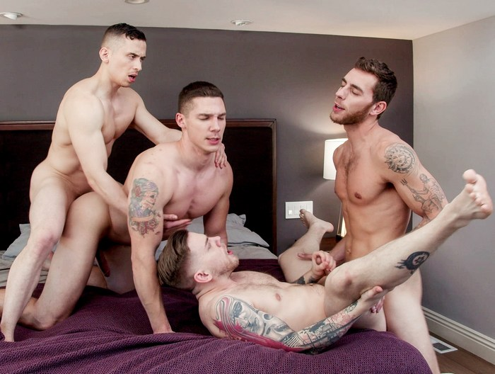 Gay Porn Orgy Spencer Laval Steve Rickz Dante Martin Carter Woods Muscle Jock Fuck