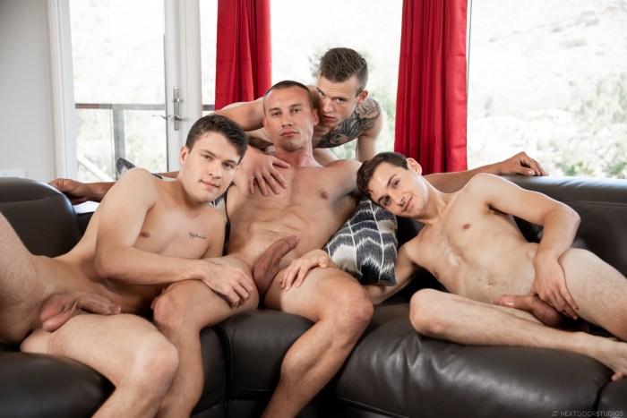 Gay Porn Scott Finn Marc Montana Evan Landers Ian Oakley