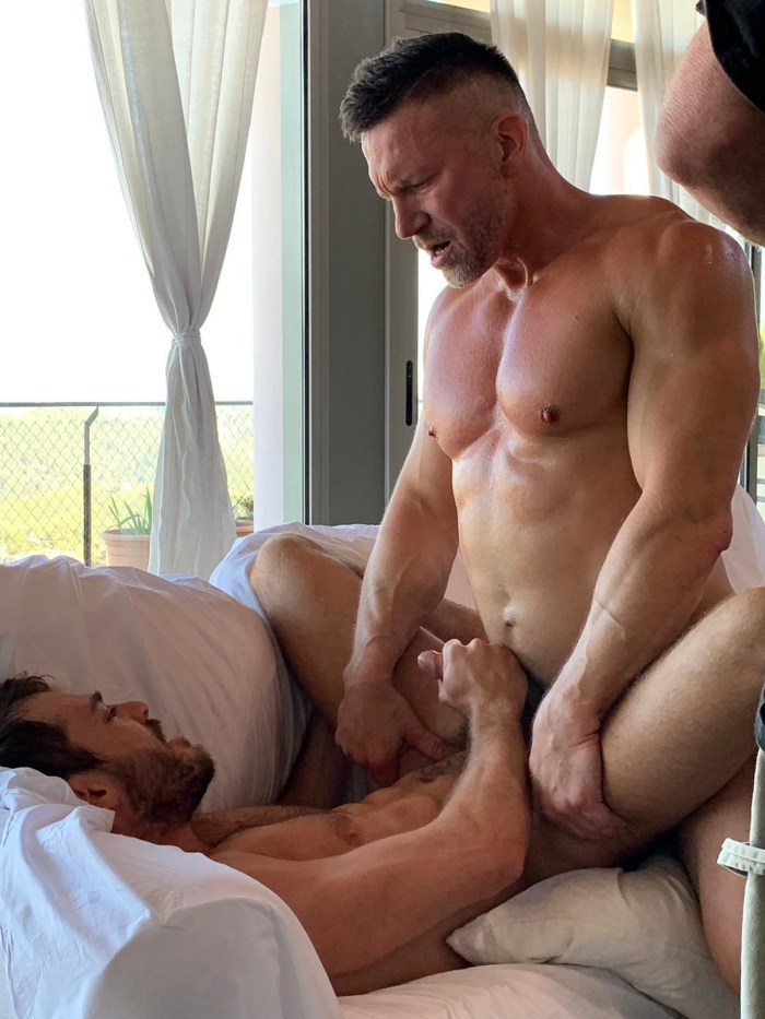 Gay orgy sitges