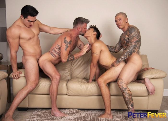 Axel Kane Christian Matthews Jason Wolf Damian Dragon Gay Porn Orgy PeterFever