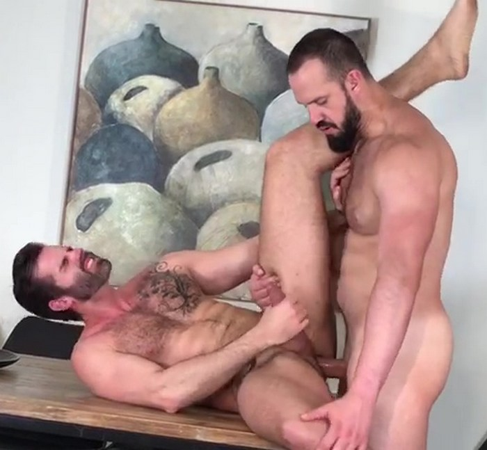 Dani Robles Gay Porn Andy Onassis Muscle Hunk Bareback Sex Behind The Scenes KristenBjorn