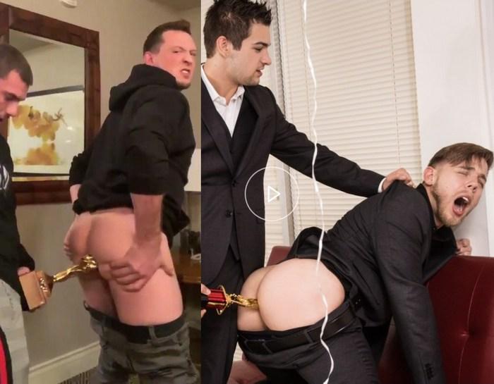 Gay Porn Award Trophy Butt Fuck Pierce Paris Steve Rickz Johnny Rapid William Seed