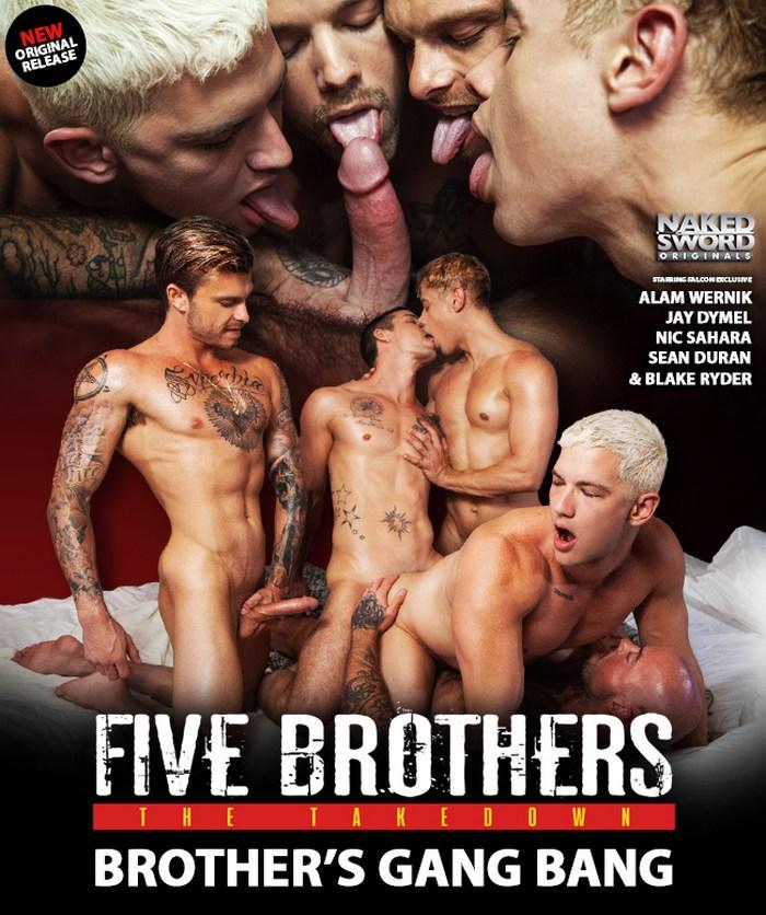 Gay Porn GangBang Jay Dymel Nic Sahara Sean Duran Blake Ryder Alam Wernik
