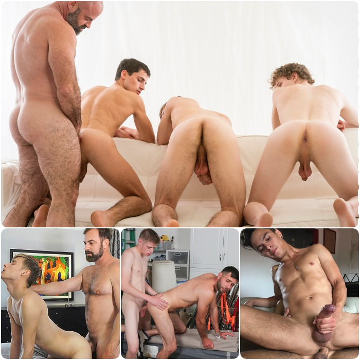 Gay Porn Bishop Angus Argos Kristofer Weston Oliver Dean