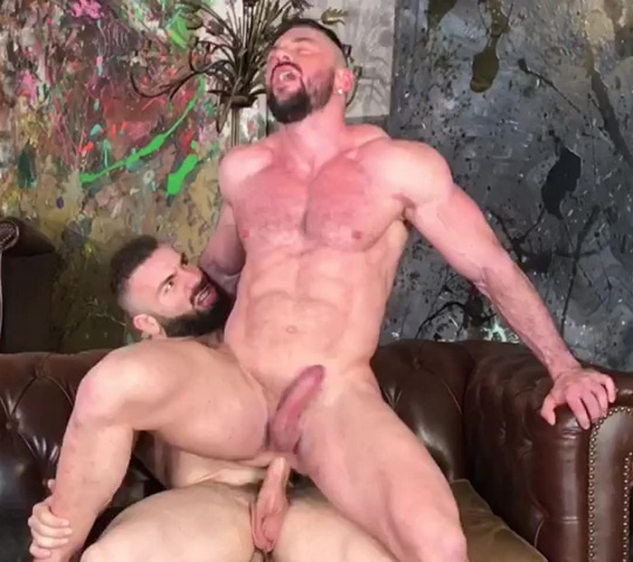 Gay Porn Bodybuilder Muscle Hunk Cole Keller Max Hilton