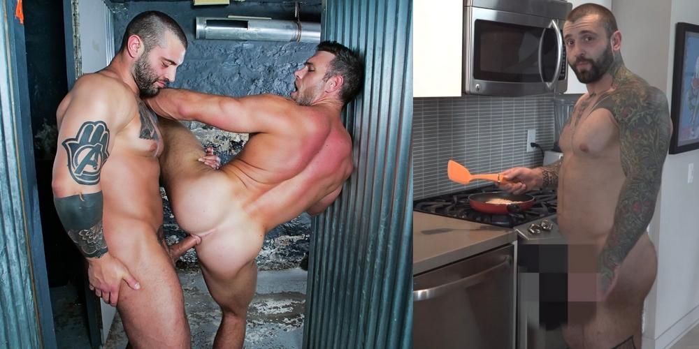 Gay cooking porn