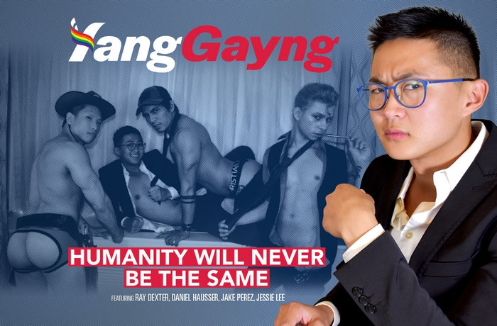 Yang Gayng Political Gay Porn Satire PeterFever Ray Dexter