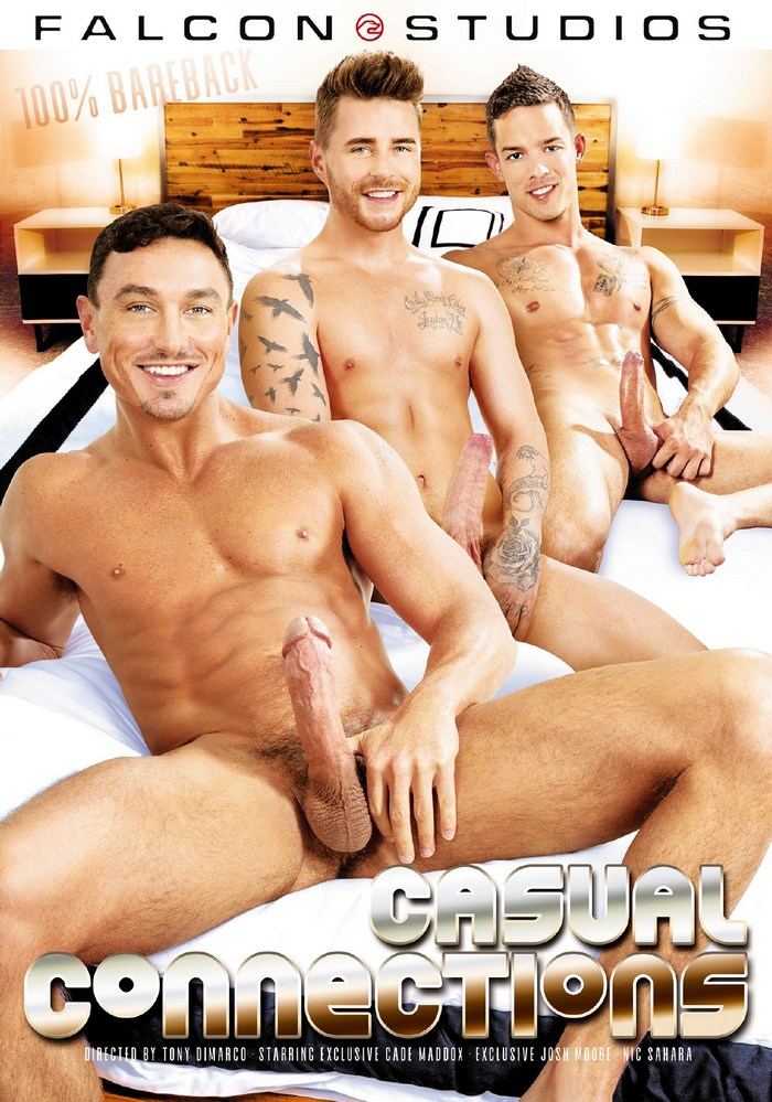 Casual Connections Gay Porn Cade Maddox Josh Moore Nic Sahara