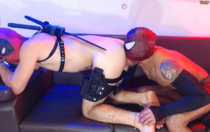 Chaturbate Gay Porn Webcam Spider-Man Rimming Deadpool Querhyus X