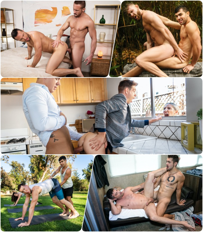 Gay Porn JJ Knight Michael DelRay Colby Tucker Pierce Paris Ty Mitchell Dante Colle Alexander Muller