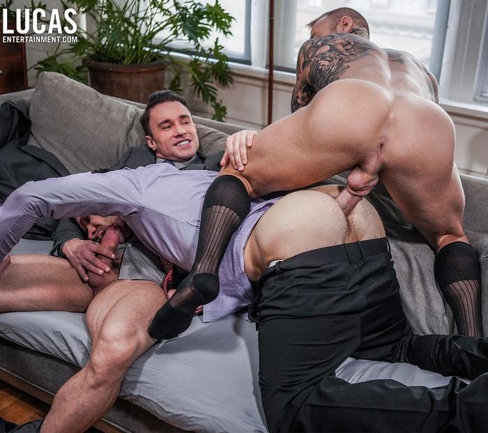 Gay Porn Muscle Hunk Fuck Alexander Volkov Andrey Vic Dylan James