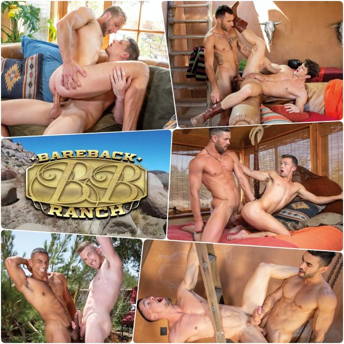 Bareback Ranch Gay Porn