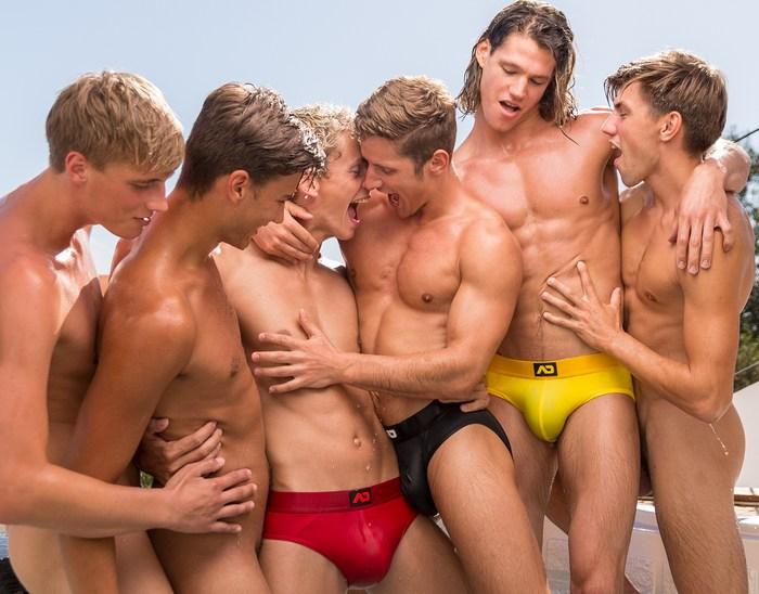 BelAmi Gay Porn Stars Shirtless Muscle Jock ADDICTED Underwear Models