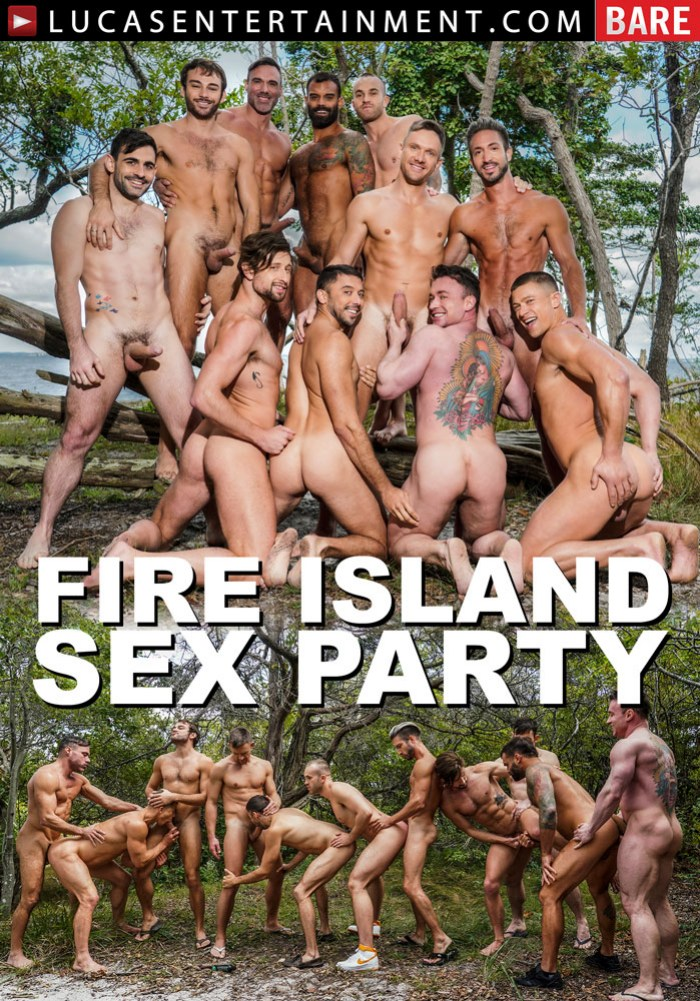 Fire Island Sex Party Gay Porn Bareback Orgy