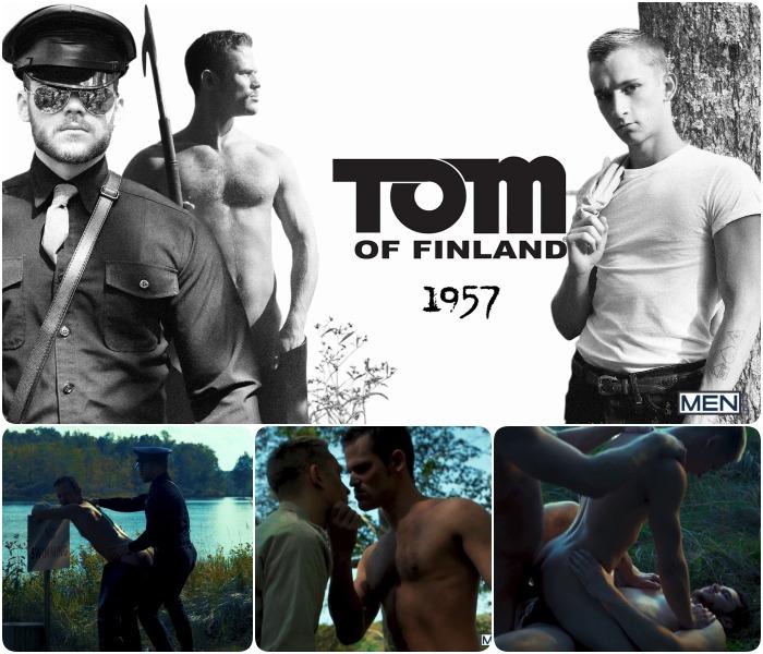 Tom Of Finland 1957 Gay Porn Matthew Camp Kurtis Wolfe Theo Brady Fuck