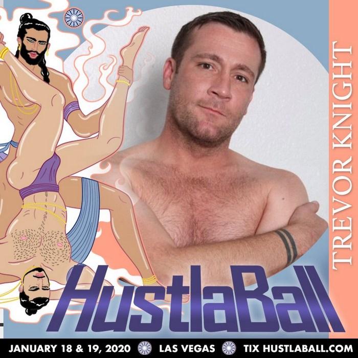 Trevor Knight Gay Porn Star HustlaBall Las Vegas 2019