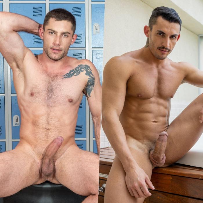Fernando Ferraro Joao Miguel Brazilian Gay Porn Star Naked Muscle Hunk