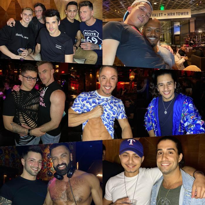 Gay Porn Stars HustlaBall Welcome Party Vanity Night Club