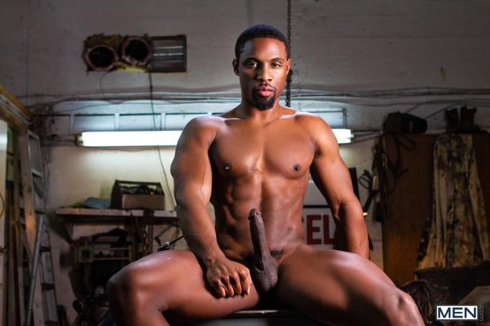 DeAngelo Jackson Gay Porn Star Naked Hunk Big Dick