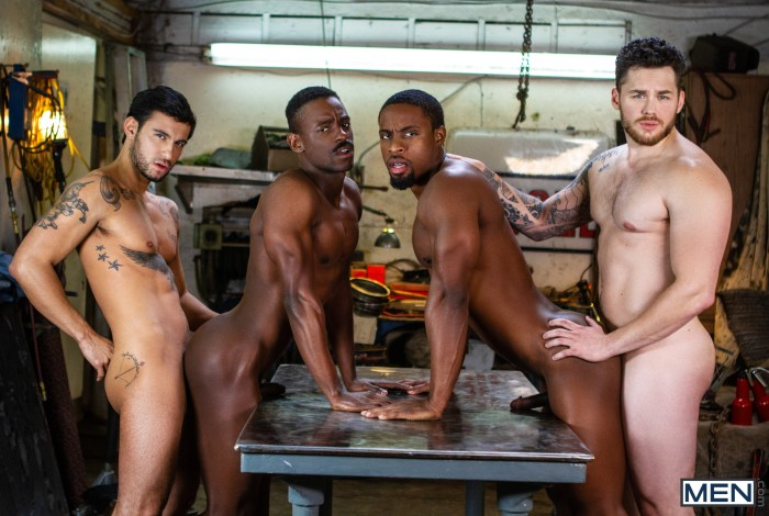 Gay Porn Tom Of Finland Matthew Camp DeAngelo Jackson Ricky Roman River Wilson