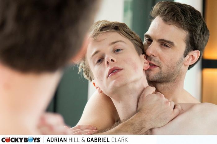 Adrian Hill Gay Porn Gabriel Clark CockyBoys