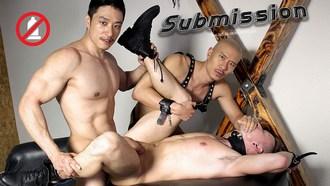 Asian Gay Porn Duncan Ku Tyler Slater Caged Jock