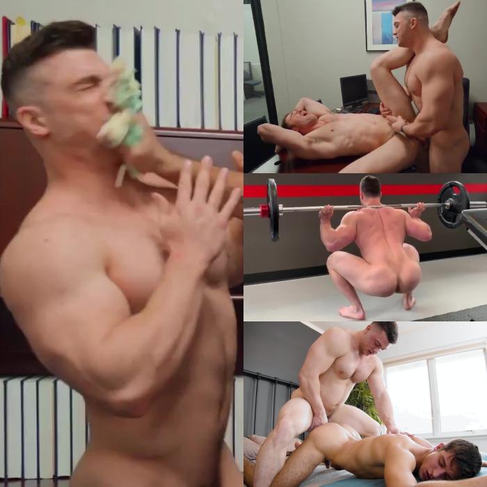 Collin Simpson Gay Porn Caked Face Fuck Michael Boston Elliot Finn