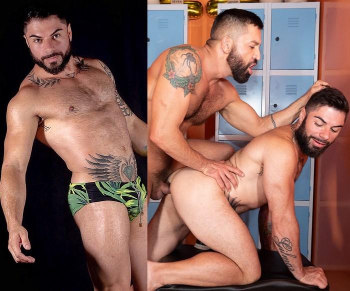 Fabio Floriano Gay Porn Muscle Hunk Dominic Pacifico