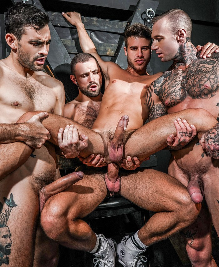Gay Porn Allen King GangBang Dylan James Jeffrey Lloyd Max Arion