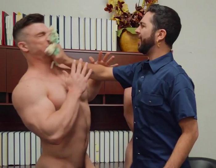 Gay Porn Collin Simpson Cake In The Face