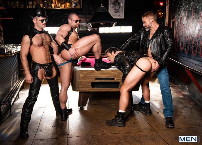 Gay Porn GangBang Nate Grimes Jaxx Thanatos Dirk Caber Kurtis Wolfe Tom Of Finland