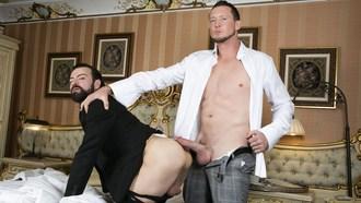 Gay Porn Pierce Paris Fucks Miguel Angel