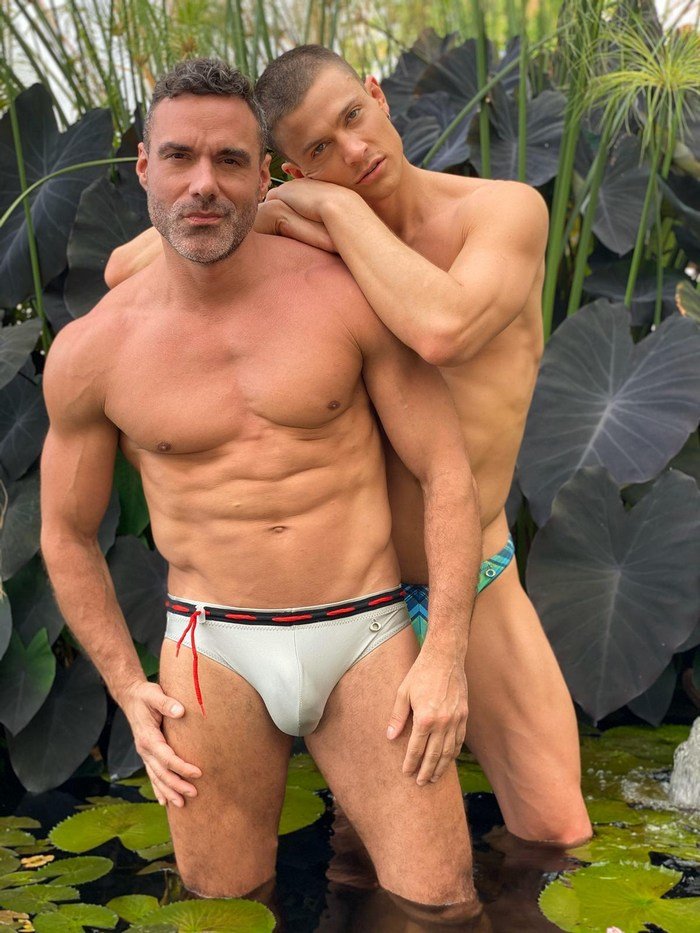 Gay Porn Stars On The Set Of Lucas Entertainment In Mexico