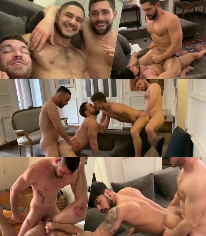 Griffin Barrows Gabriel Cross Gay Porn Bareback Fuck European Adventures
