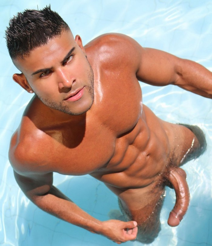 O Mino Tauro Brazilian Muscle Hunk Big Dick Naked Gay Porn Star