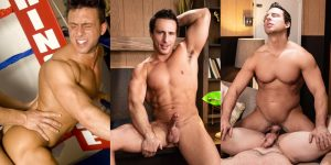 Reese Rideout Gay Porn Collin Simpson Muscle Hunk