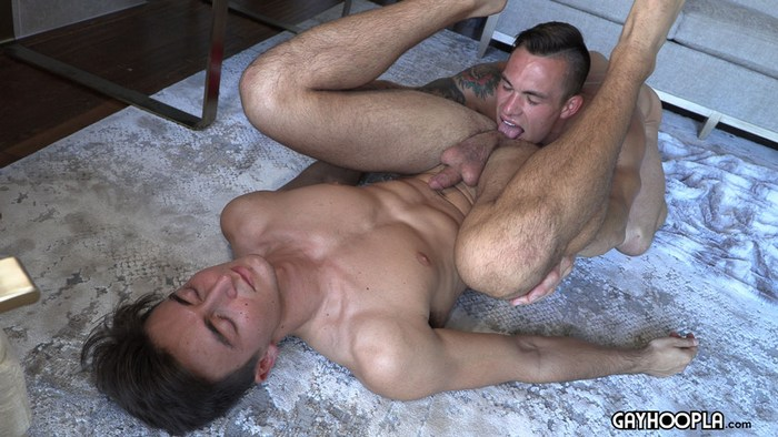 Travis Youth Gay Porn Muscle Hunk Oliver Tyme