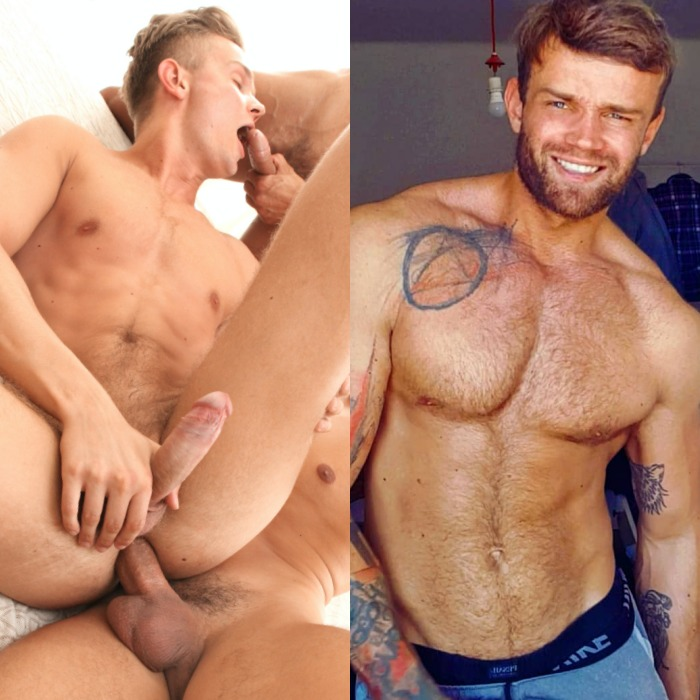 Tom Pollock BelAmi Gay Porn Star Bottom Muscle Hunk