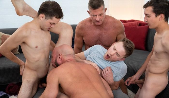 Gay Porn Cole Blue Felix Kamp Killian Knox Matthew Figata Jack Andram