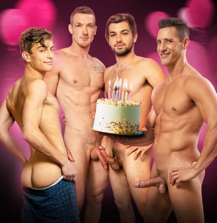 Gay Porn Happy Fuckin Birthday Johnny Rapid NakedSword Jackson Cooper Jax Thirio Jesse Bolton